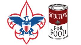 BoyScout Food Drive